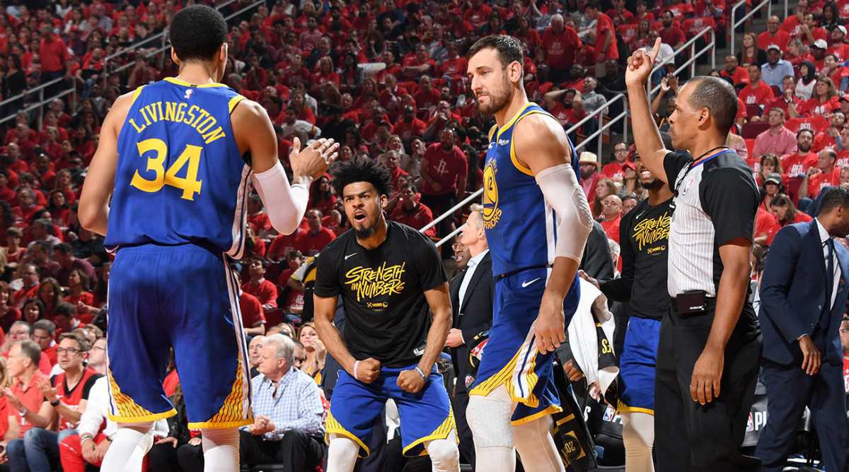 Periphery Players Help Stephen Curry Push Warriors to Western Conference Finals