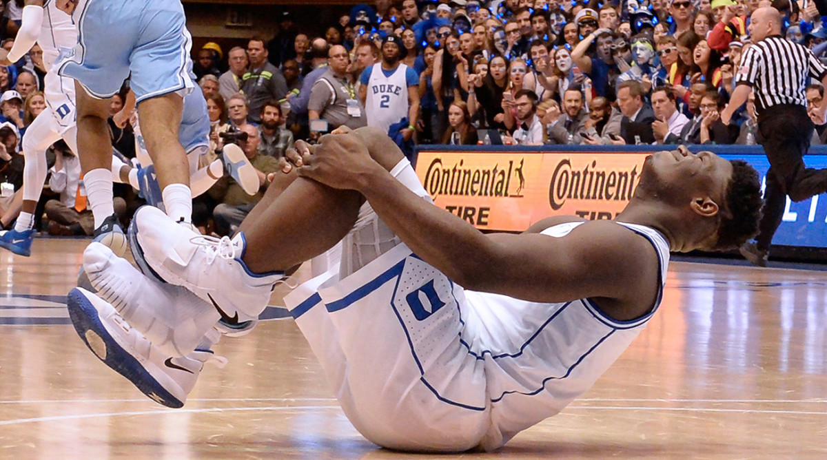 The Zion injury that stopped the sports world