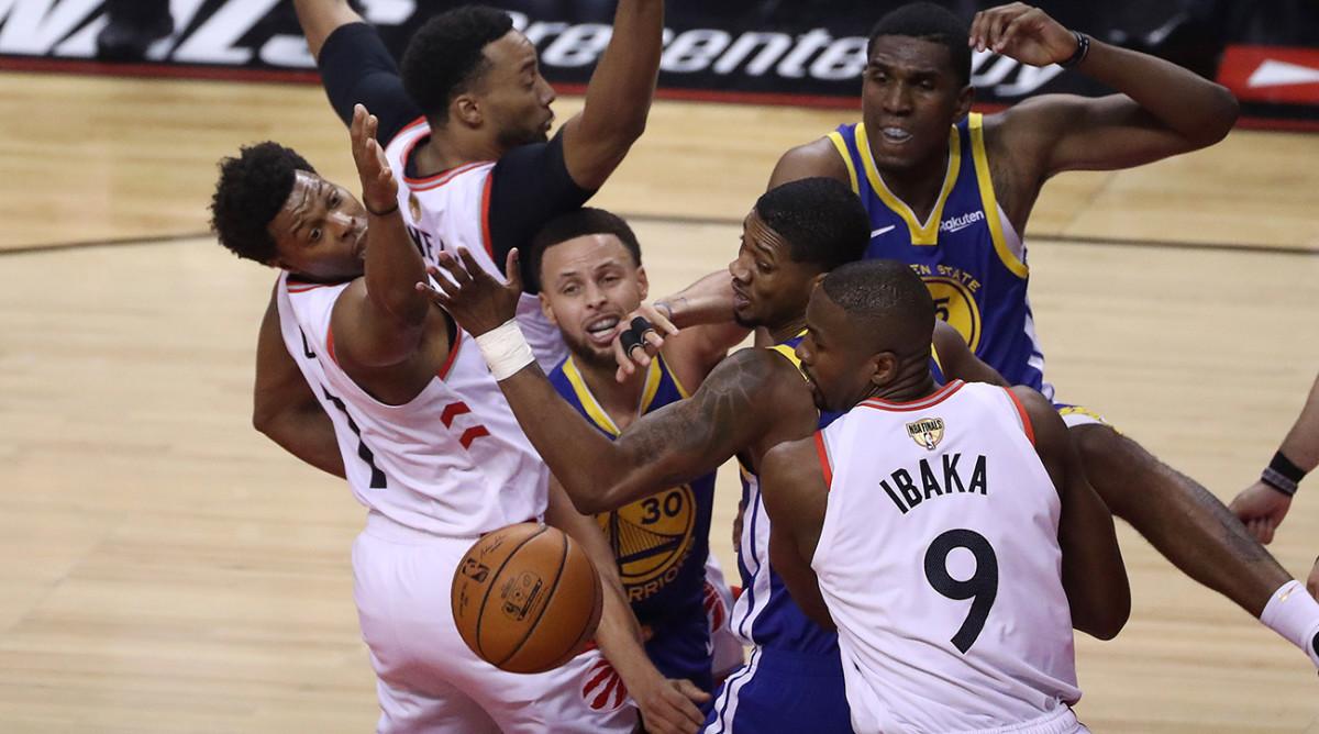 Raptors' Defensive Masterpiece Stifles Warriors in Game 1 of NBA Finals