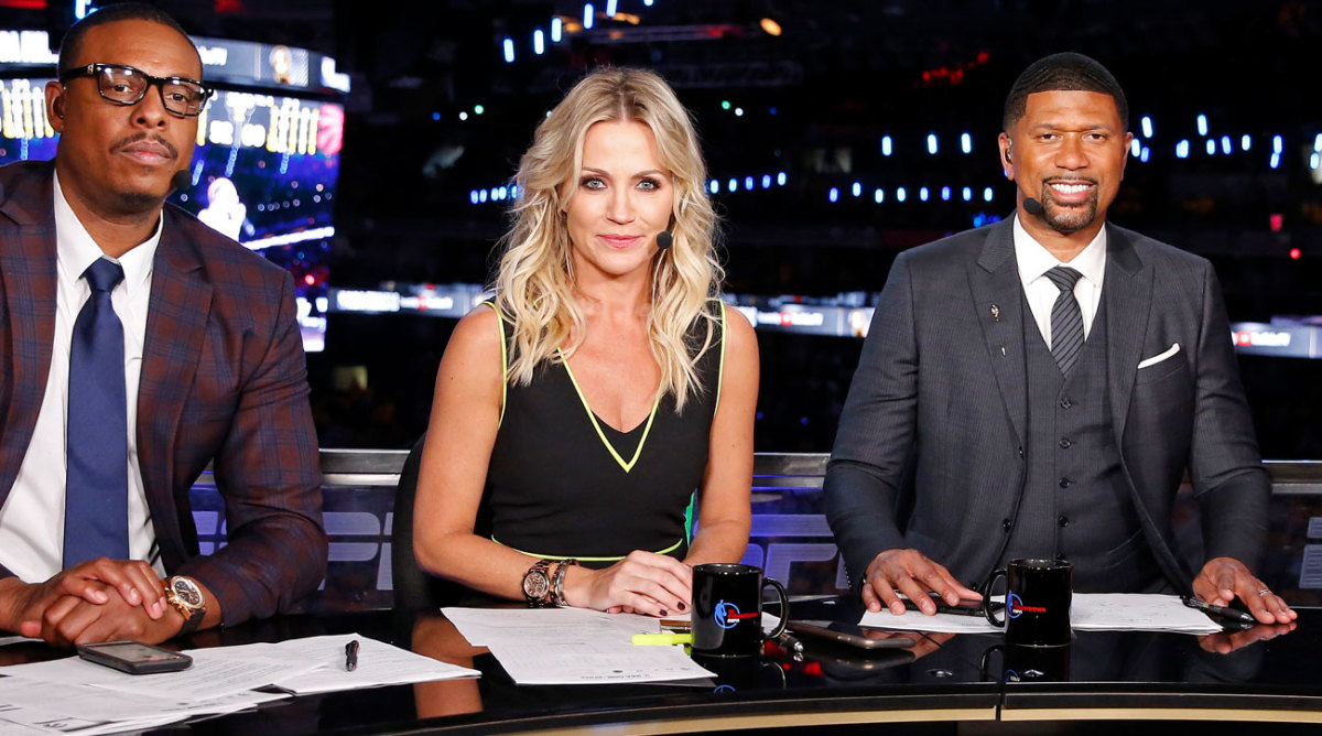 Michelle Beadle Espn Negotiating Buyout After Nba Countdown Exit Sports Illustrated