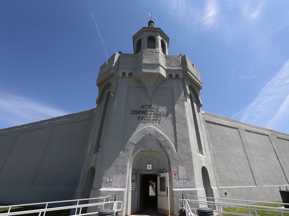 Attica Correctional Facility, the prison Valentino Dixon called home for 27 years.