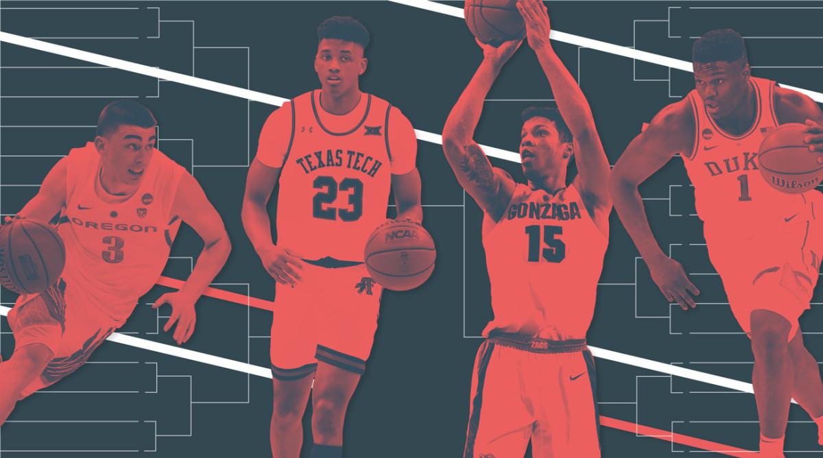 March Madness 2019 Gonzaga Unc Duke Lead Sweet 16