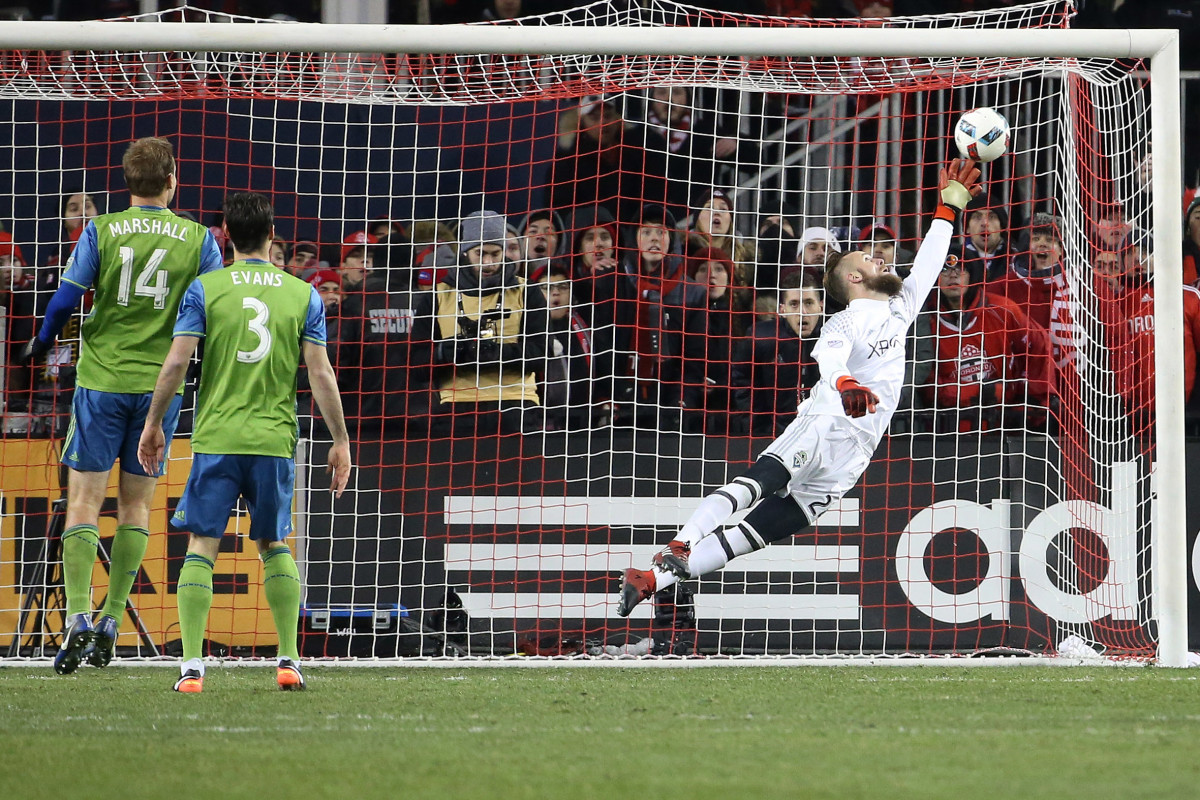 Stefen Frei's epic save in the 2016 MLS Cup final