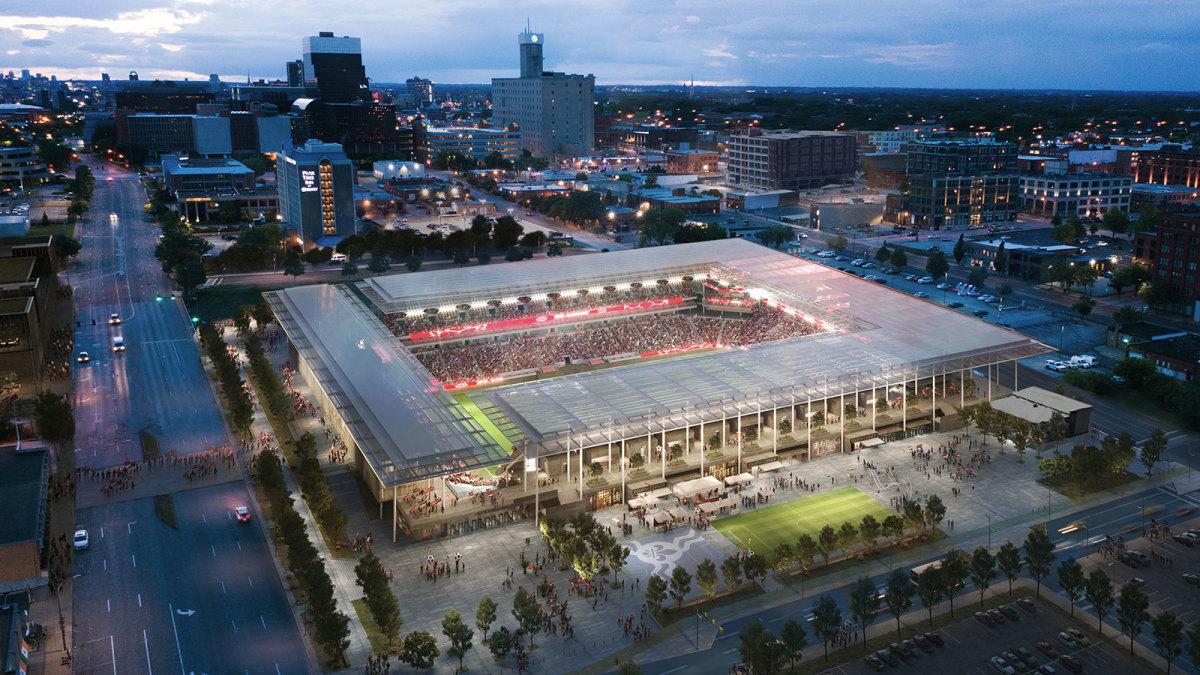 St. Louis's MLS stadium