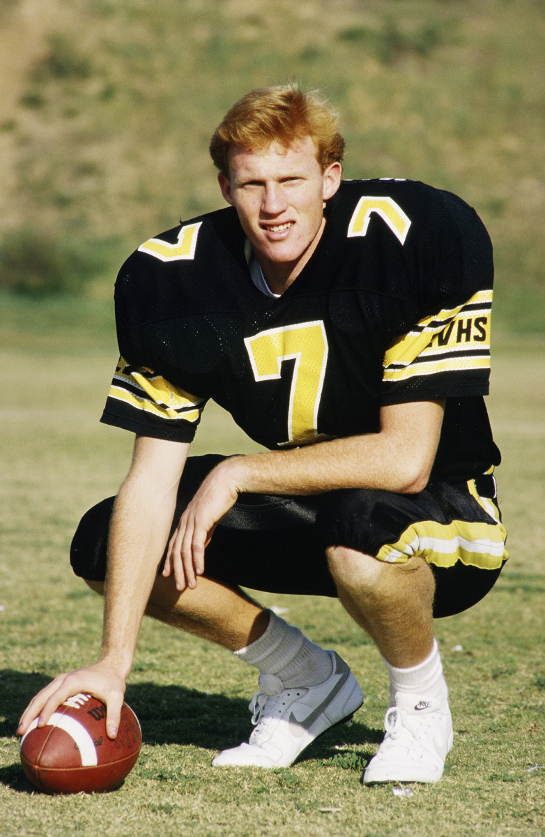 Todd Marinovich was a star in high school but he was secretly dealing with the fury of his father.
