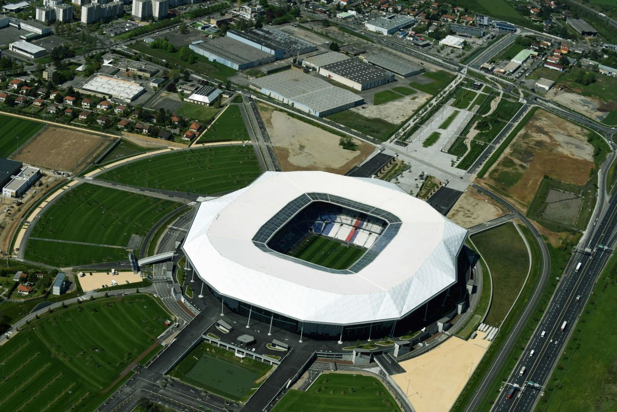 FBL-EURO-2016-STADIUM-AERIAL-LYON-PARC OLYMPIQUE LYONNAIS