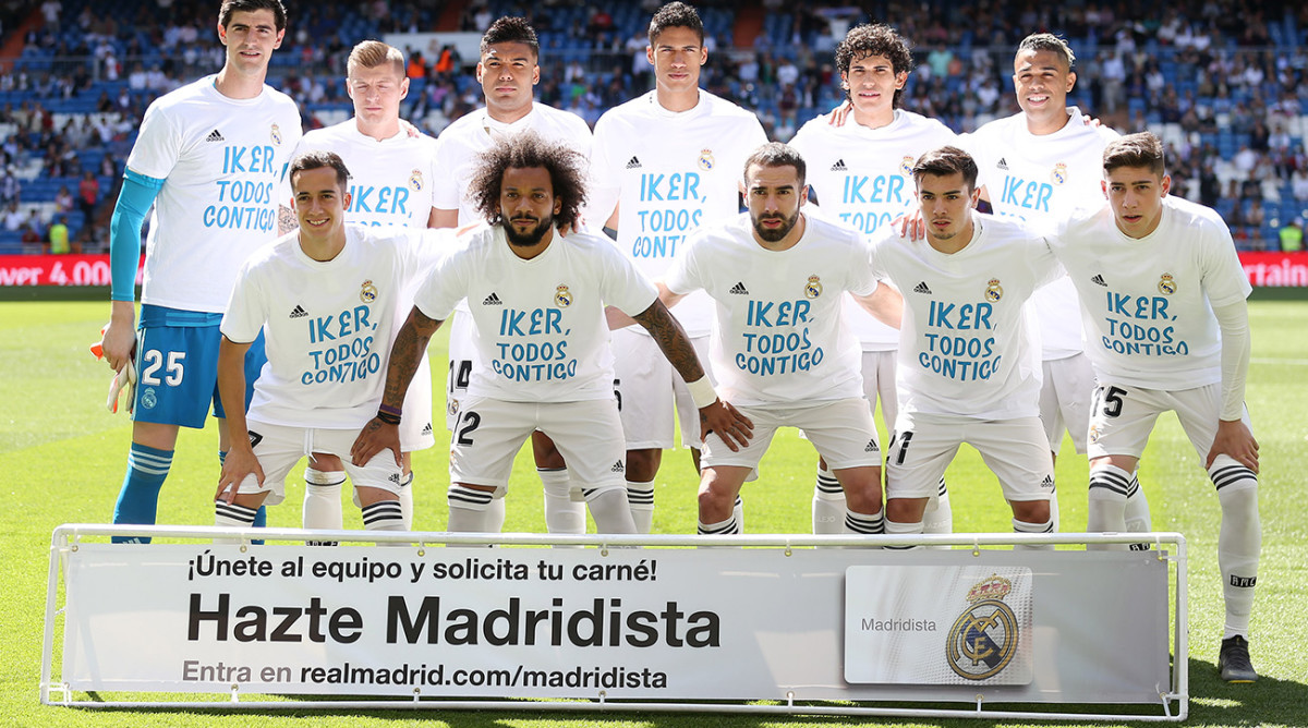 Real Madrid Sends 'Stay Strong' Message to Former Goalkeeper Iker Casillas