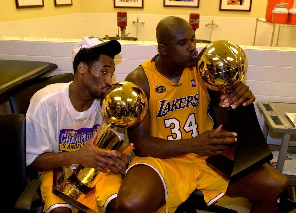 2000-0619-Kobe-Bryant-Shaquille-O'Neal-trophies.jpg
