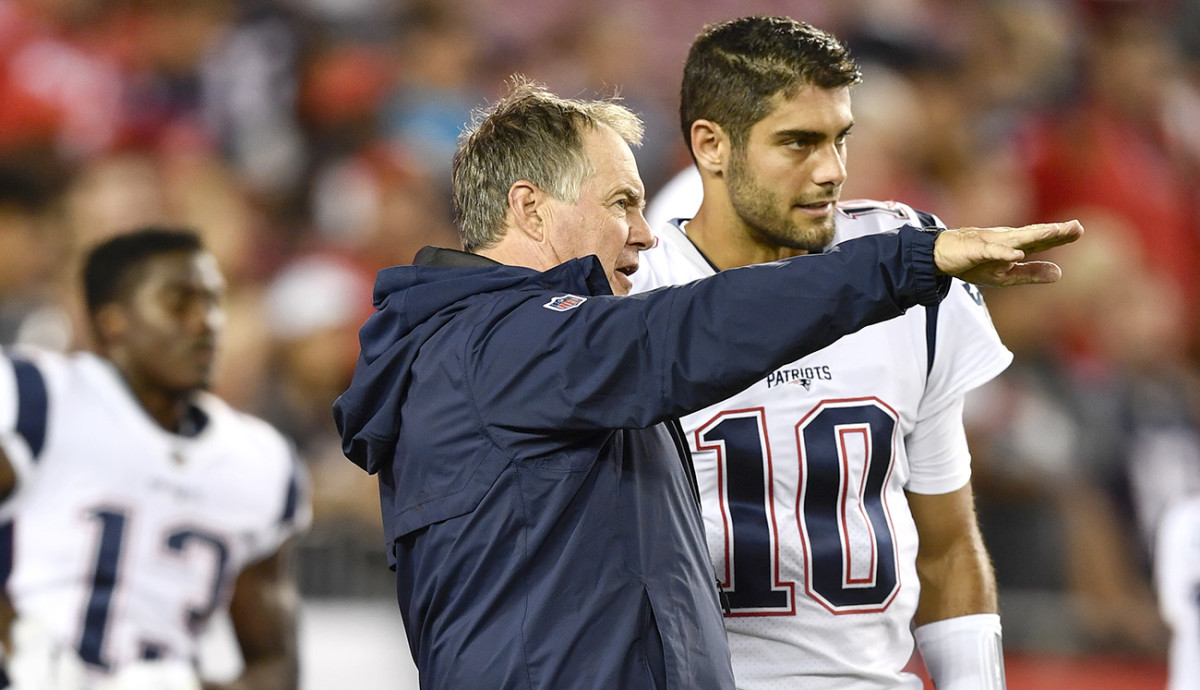 Belichick showed a genuine fondness for Garoppolo, even after the trade that sent the QB to San Francisco.
