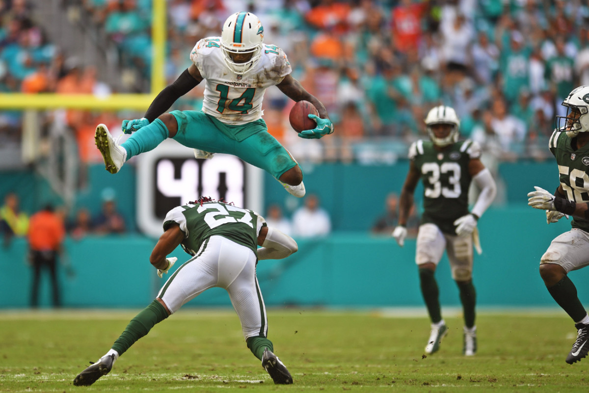 Landry's yards-per-catch numbers may be humdrum, but he's capable of spectacular stuff on the field.