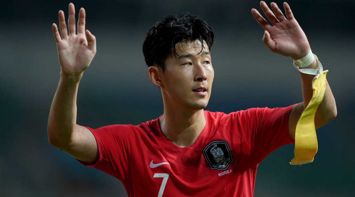 Son Heung-min: Spurs Star Plays For South Korea Military