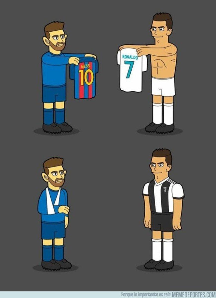 1054326 - El antes y después de Cristiano y Messi en el clásico, por @emiliosansolini