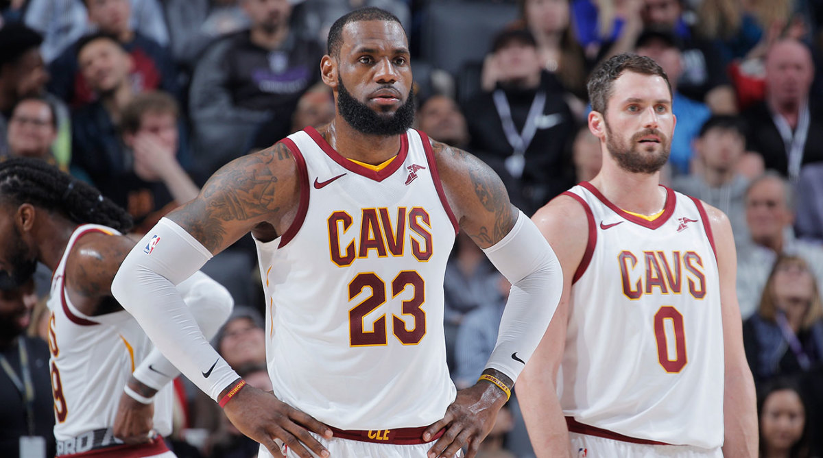 Cavs Players 2018 >> Cavs Roster Players Left In Cleveland After Trade Deadline