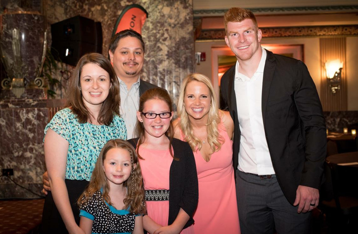 The Daltons and the Tucker family.