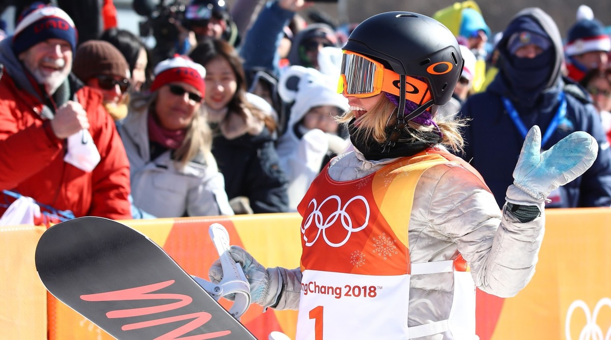 Jamie Anderson wins gold medal in slopestyle at 2018 ...