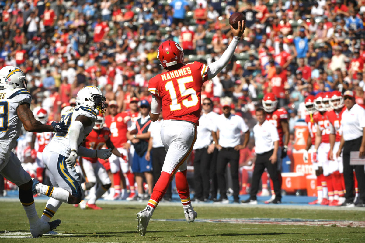 A four-touchdown show against the Chargers in Week 1 set the tone.
