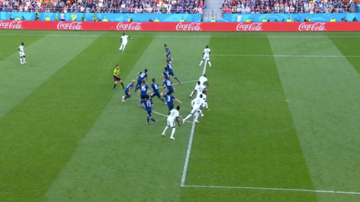Japan Pull Off The Best-Executed Offside Trap In History vs. Senegal