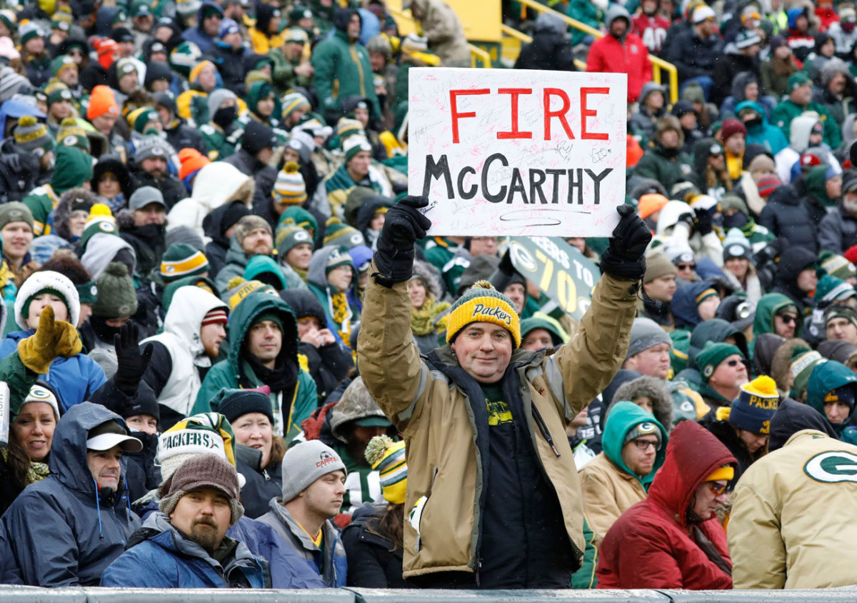 Fan sentiment had been long building for a coaching change.