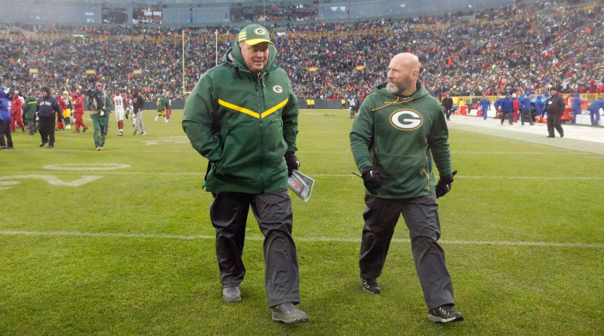 McCarthy's last walk-off at Lambeau—as Packers coach, at least.