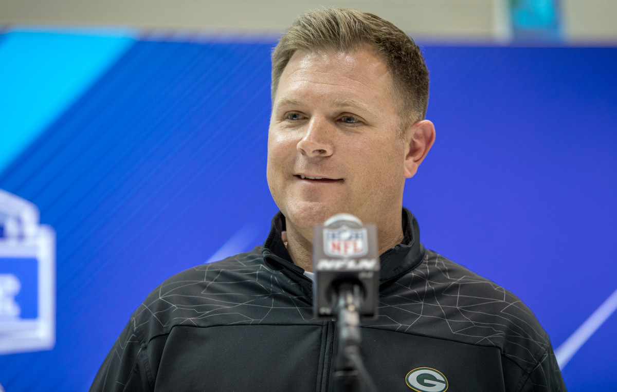 Brian Gutekunst joined the Packers in 2012 and was promoted to GM in January.