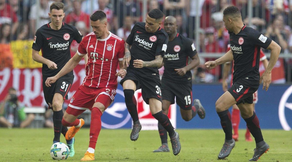 Bayern Vs Frankfurt Dfb Pokal