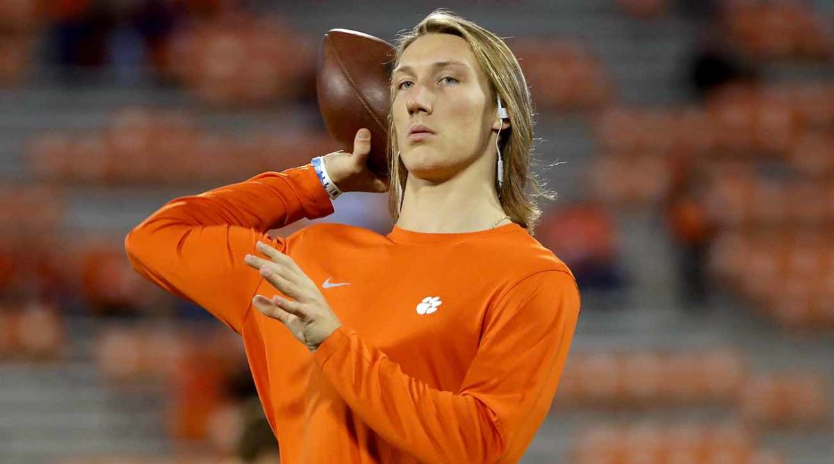 in Clemson a Trevor remains celebrity QB Lawrence: