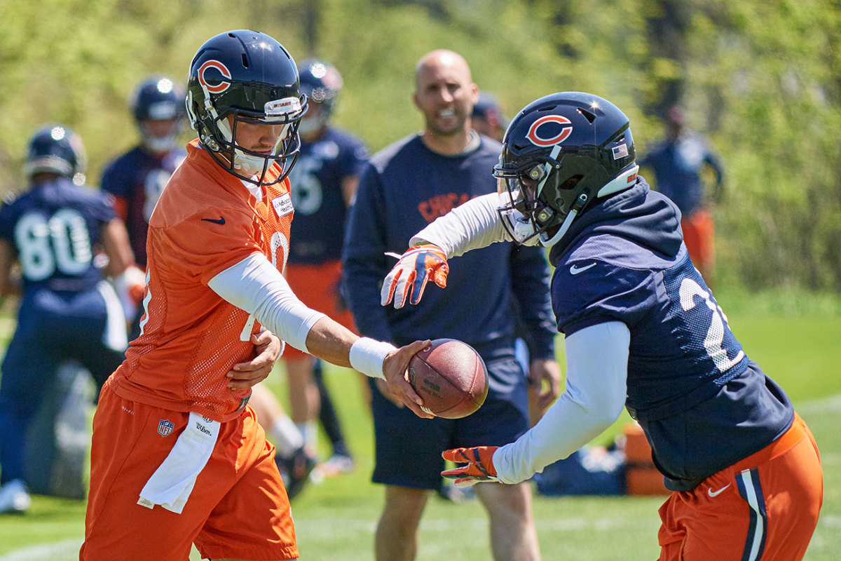 Trubisky, Nagy and the Bears are looking for a good ROI on RPOs.