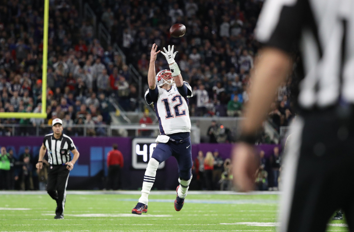 Brady hit all the numbers, but the ultimate goal was just out of reach.