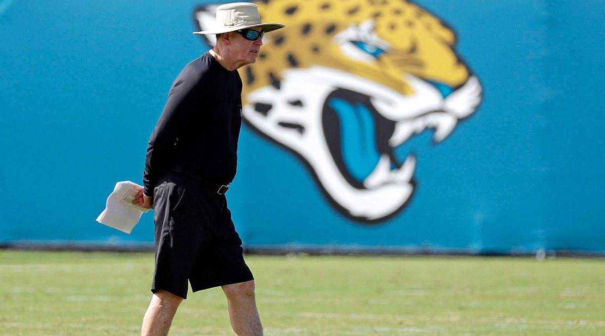 In eight years with the expansion Jaguars, Tom Coughlin led the team to the playoffs four times and the AFC Championship Game twice.