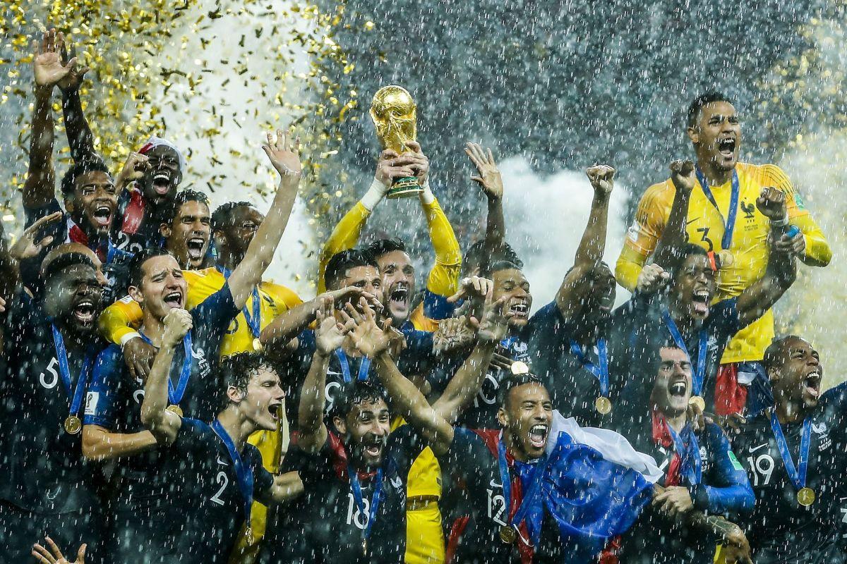 FIFA World Cup 2018 Russia'France v Croatia'