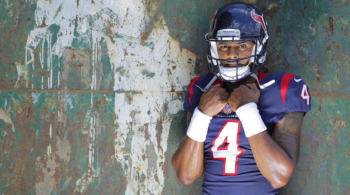 Deshaun Watson threw 16 touchdowns in October 2017, a record for a rookie quarterback.