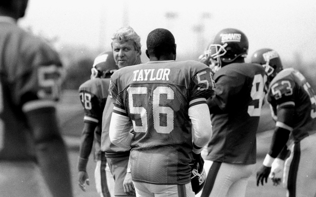 Among the Giants game-changers who arrived in the years after—and as an indirect result of—The Fumble: Parcells and Taylor.