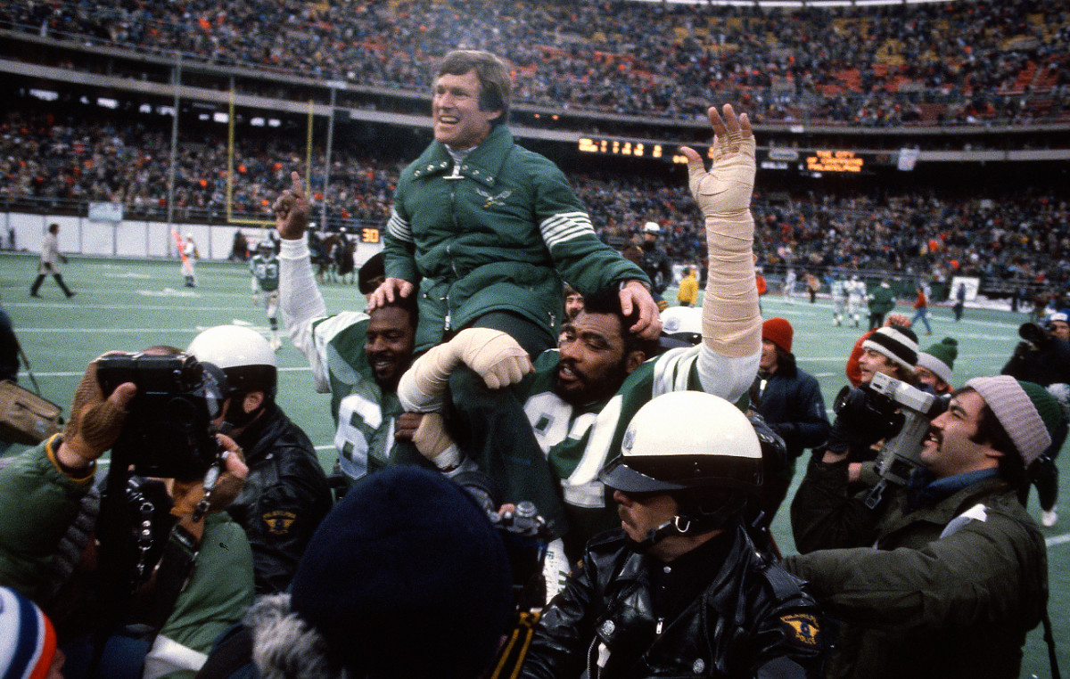 The Miracle helped Philly break a 17-year playoff drought; two seasons later Vermeil's Eagles were headed to the Super Bowl.