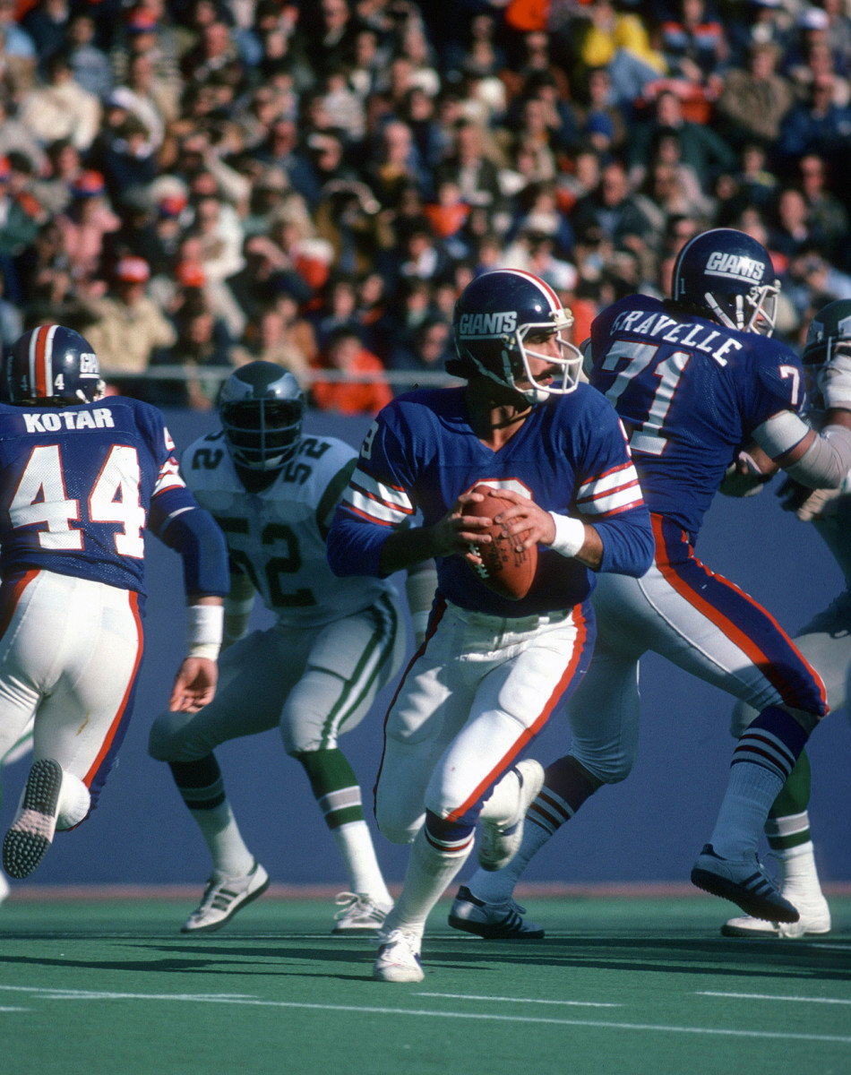 A year after his flub, Pisarcik would be supplanted as Giants starter by a rookie named Phil Simms—and the following season he'd be a backup on the Eagles' Super Bowl team.