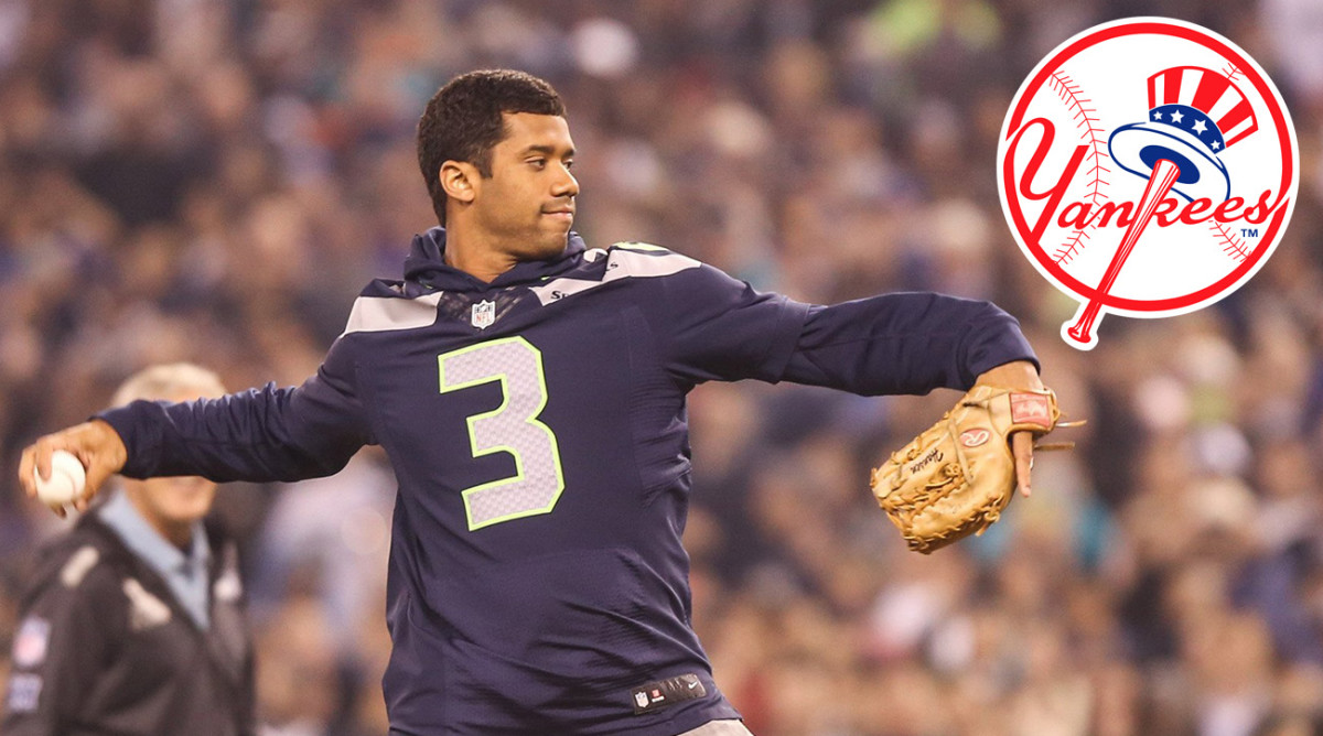 Russell Wilson's Baseball Rights Traded to Yankees - Sports ...