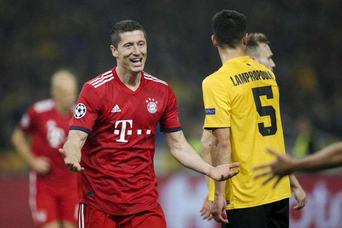 AEK Athens v FC Bayern Muenchen - UEFA Champions League Group E