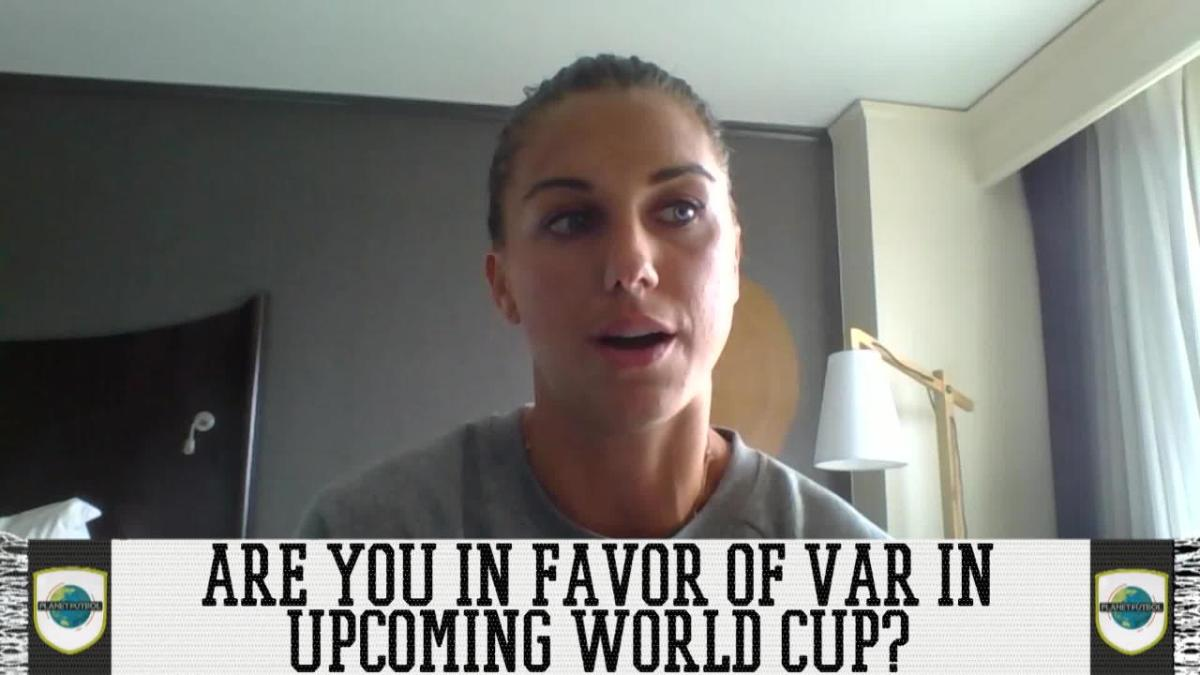 Alex Morgan's Thoughts On VAR At Women's World Cup