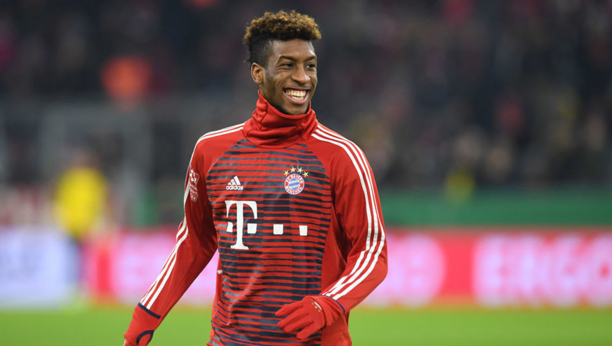 Kingsley Coman says only PSG could lure him from Bayern
