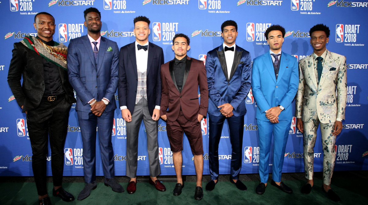 nba draft suit pics best worst of 2018