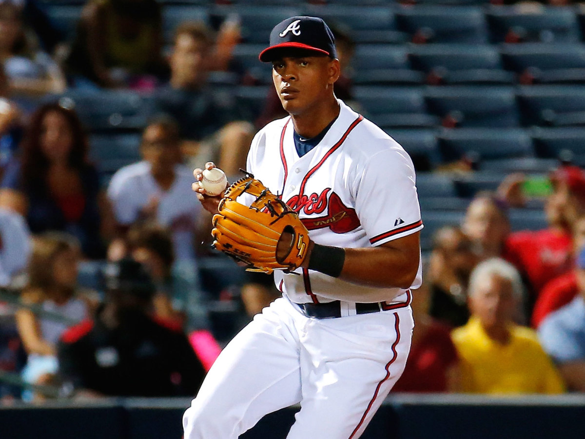 Hector Olivera last played for the Atlanta Braves before a domestic violence suspension abbreviated his MLB career.