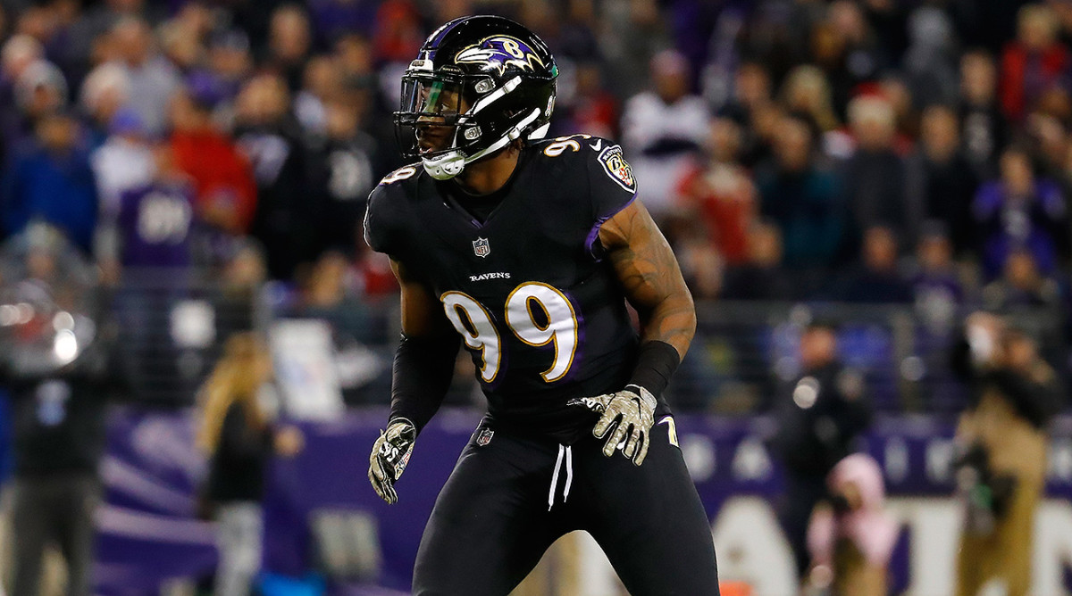Matt Judon is one of the Ravens' younger players being pressed to step up this season.