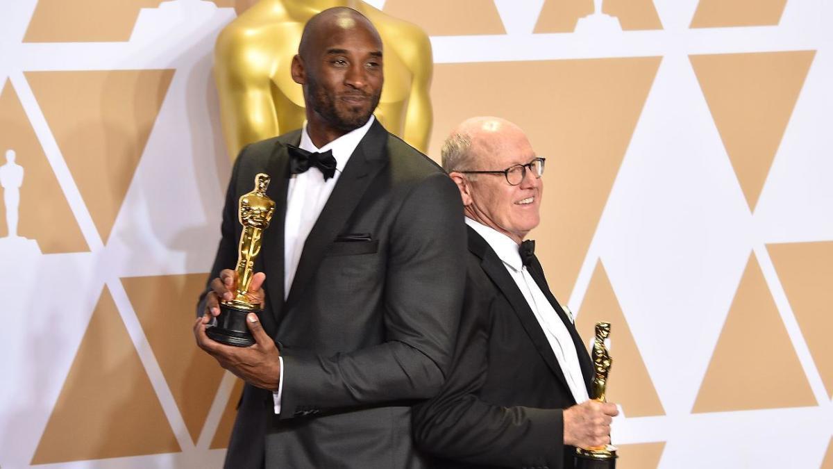 Kobe Bryant's 'Dear Basketball' wins Oscar for Best Animated Short Film - IMAGE