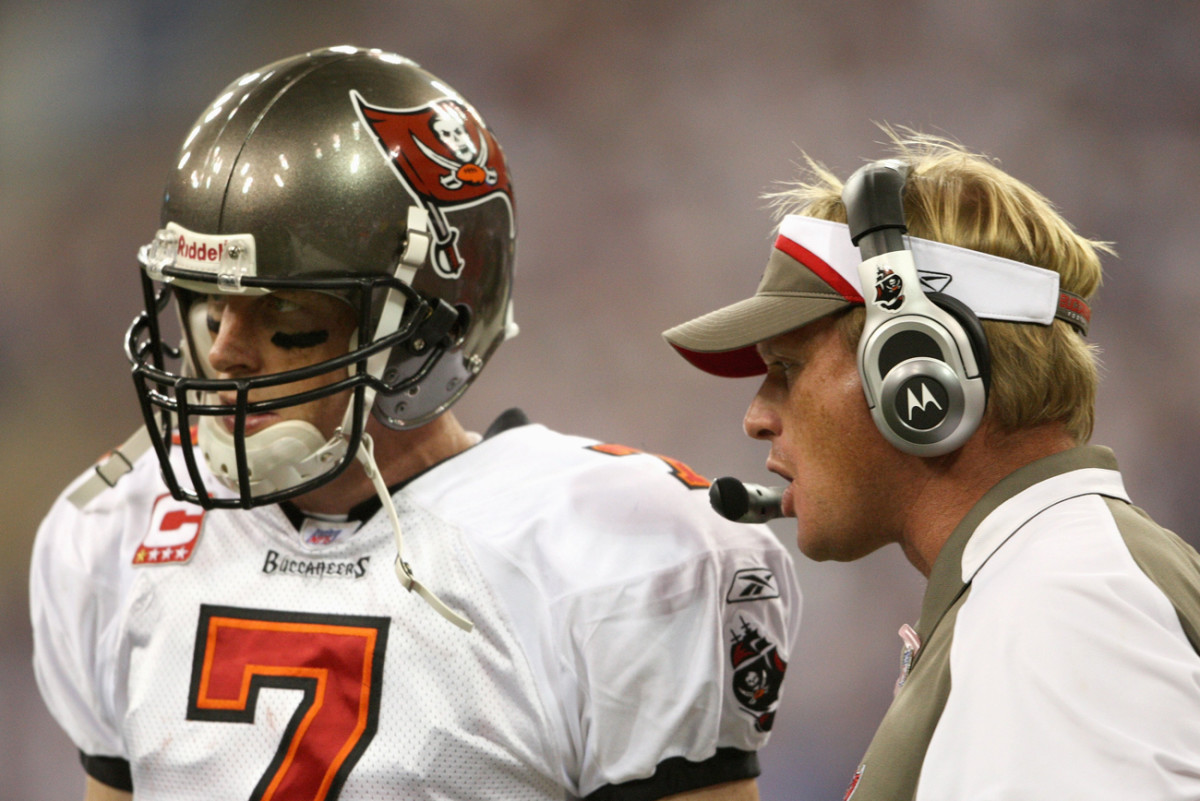 'That quarterback room was the most uncomfortable I've been around in my career,' Jeff Garcia says of Gruden's 2008 Bucs.