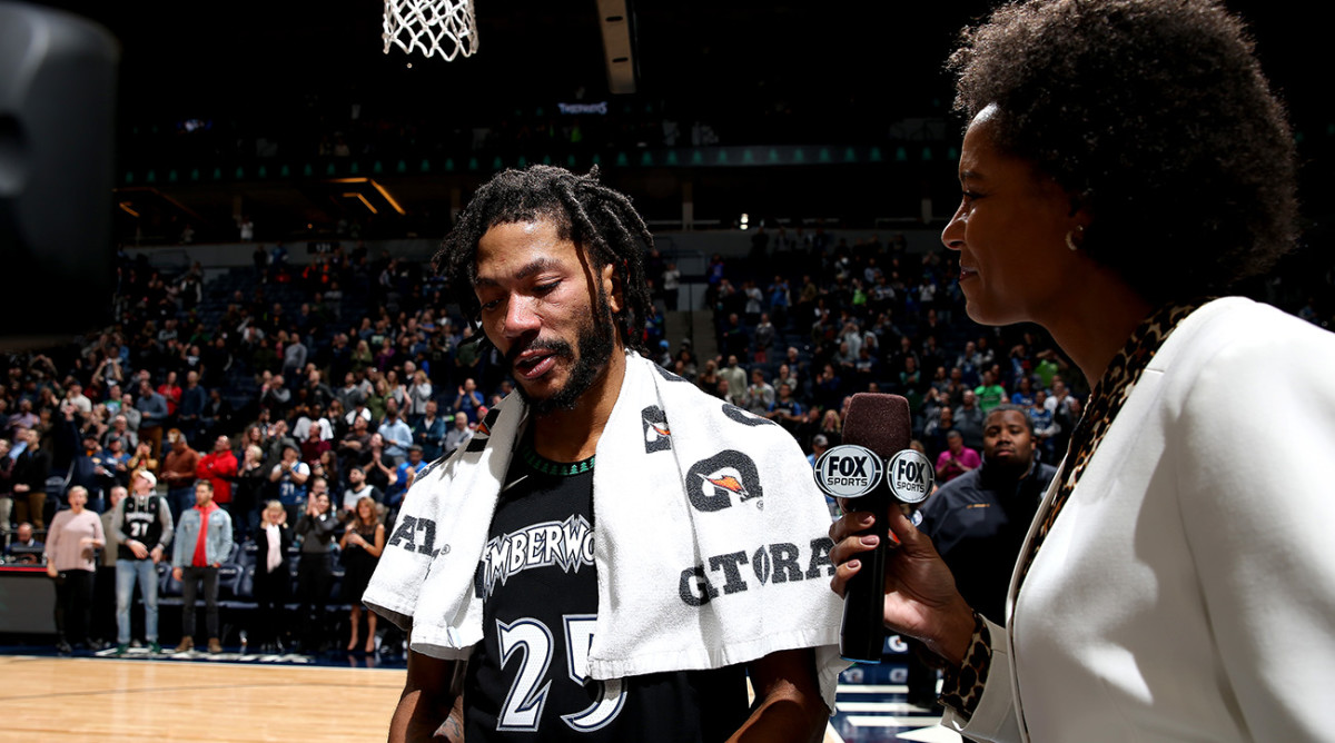 Conversation around Derrick Rose's 50-point game is uncomfortable - Sports Illustrated