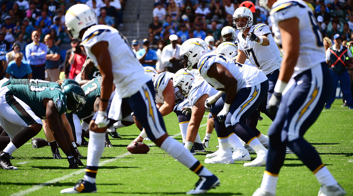 Philip Rivers will be surrounded by plenty of offensive weapons in Los Angeles this year.