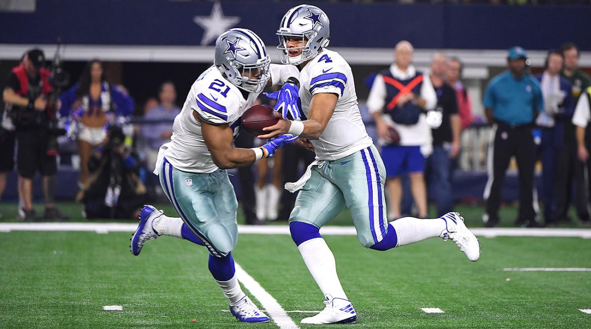 Still lacking a true No. 1 receiver, the Cowboys' offense will run through RB Ezekiel Elliott this season.