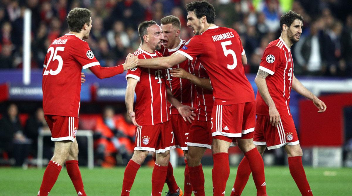 Sevilla 1, Bayern Munich 2: Thiago, own goal give FCB lead ...