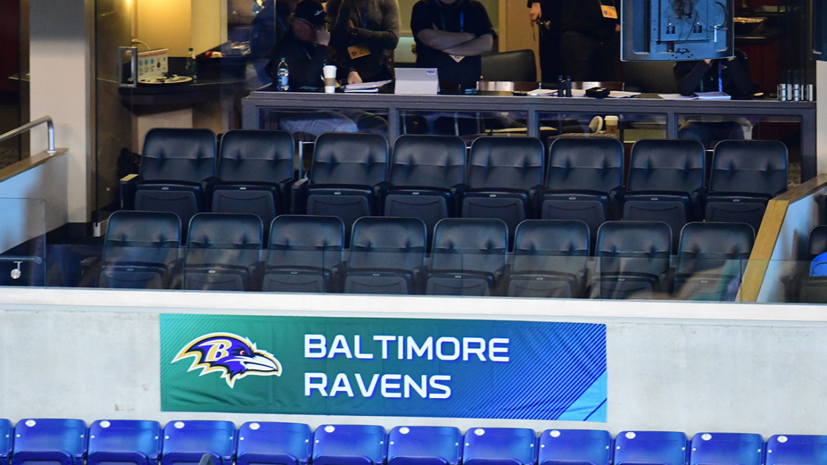 Don't go looking for Ozzie Newsome in the Ravens suite; he prefers a spot high up in the press box—for reasons he won't divulge.