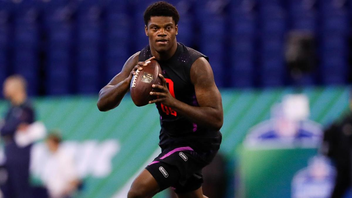 NFL draft: Louisvilles Lamar Jackson talks Bill Belichick