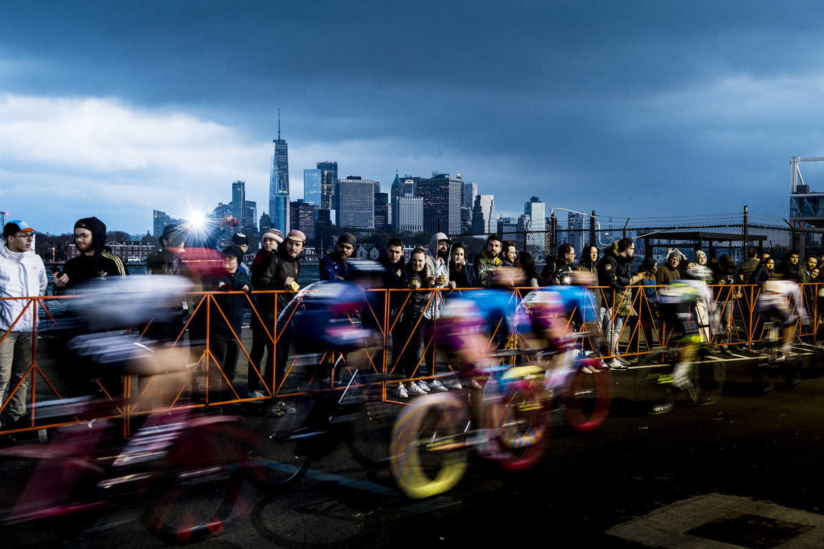 11th Edition Red Hook Criterium bike race in Brooklyn, N.Y.